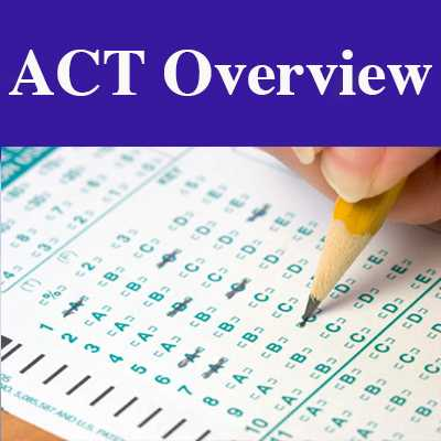 The ACT Exam