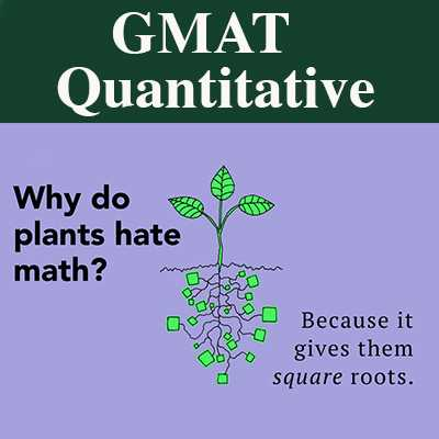 GMAT Quantitative Reasoning