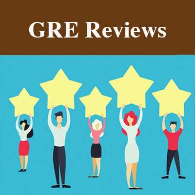 Dr. Donnelly's GRE students reviews