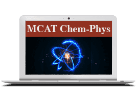 Chemical and Physical Foundations section of MCAT
